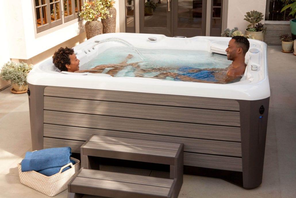 hot spring spas aria nxt. Black Bedroom Furniture Sets. Home Design Ideas