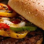 Grilled Fajita Burgers