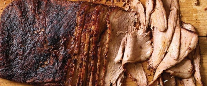 Dr. BBQ's Smoked Flat-Cut Brisket with Coffee