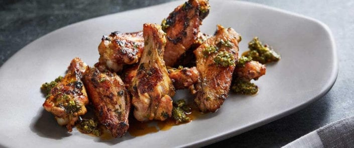 Smoky Grilled Chicken Wings