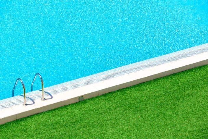 Green Isn't a Great Color for Your Pool