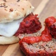 Grilled Italian Meatloaf Sandwich