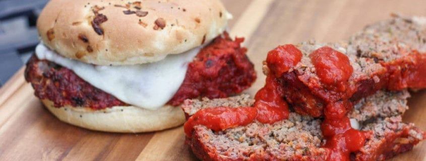 Grilled Italian Meatloaf Sandwich