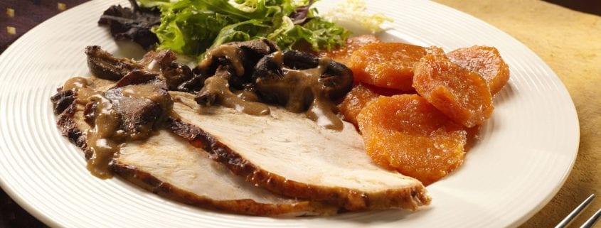 Whole Turkey with Light Salt Brine