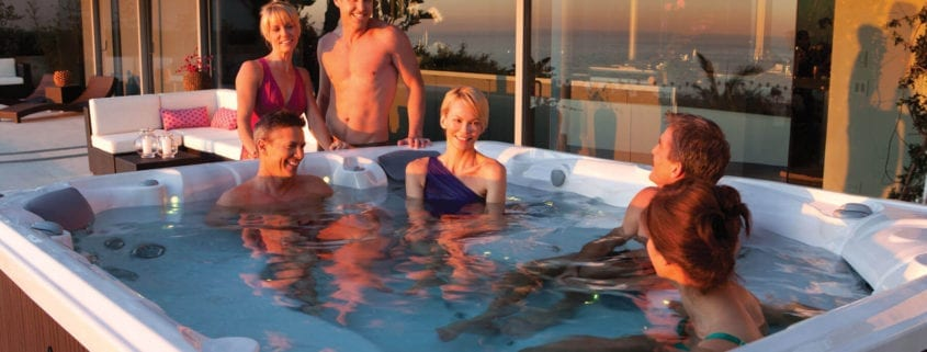 Olympic Sports Right In Your Hot Tub