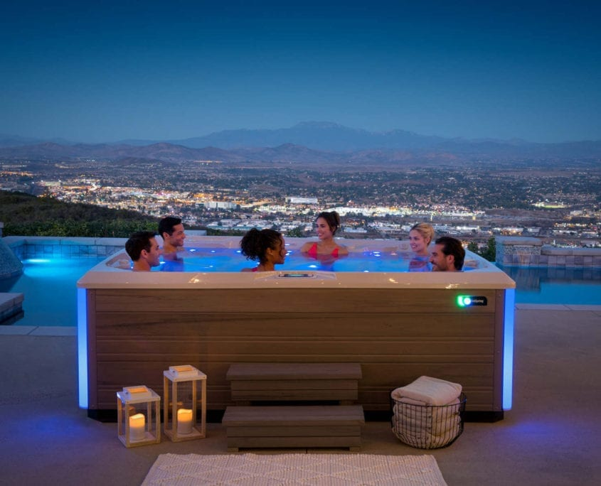 The Freshwater 174 Salt System Townley Pool And Spa In