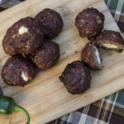 Jalapeño Mozzarella Stuffed Meatballs560