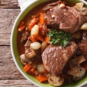 Pellet Braised Pot Roast