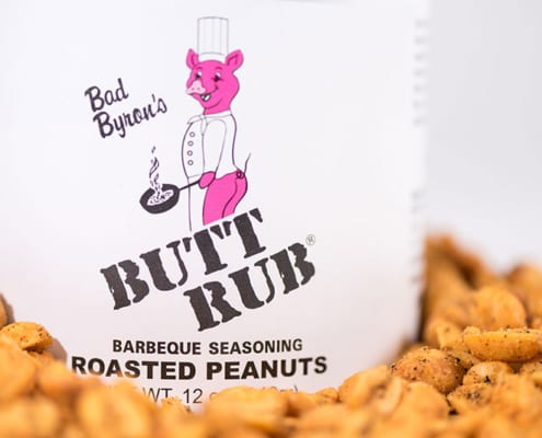 Bad Byrons Butt Rub Roasted Peanuts