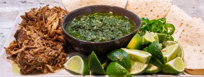 Braised Carnitas with Chimichurri Sauce560