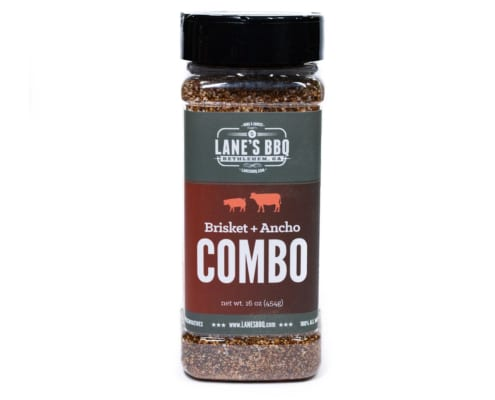 Combo Rub Brisket and Ancho