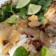 Coconut & Chipotle Braised Chicken Legs